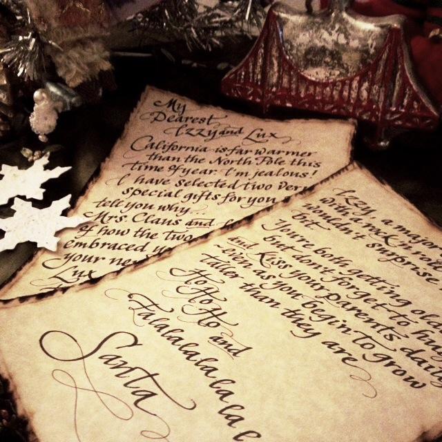 Santa Letter - tuccicursive
